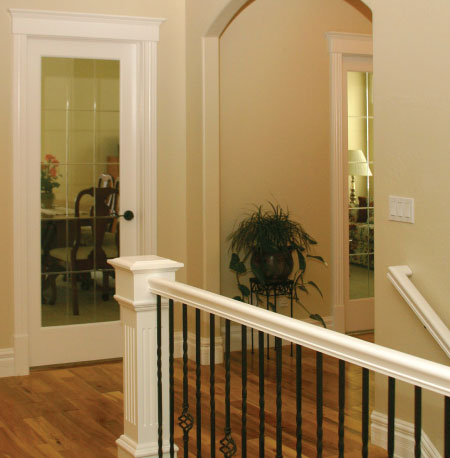 customtwo tone interior painting