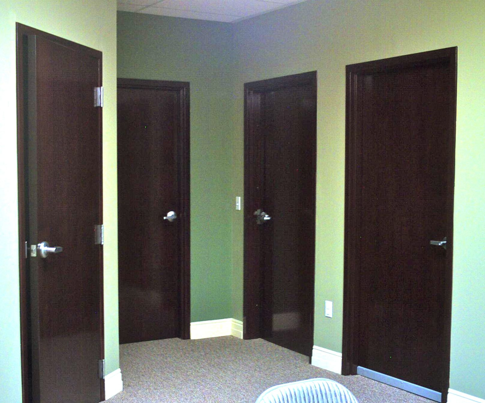 commercial interior wood door