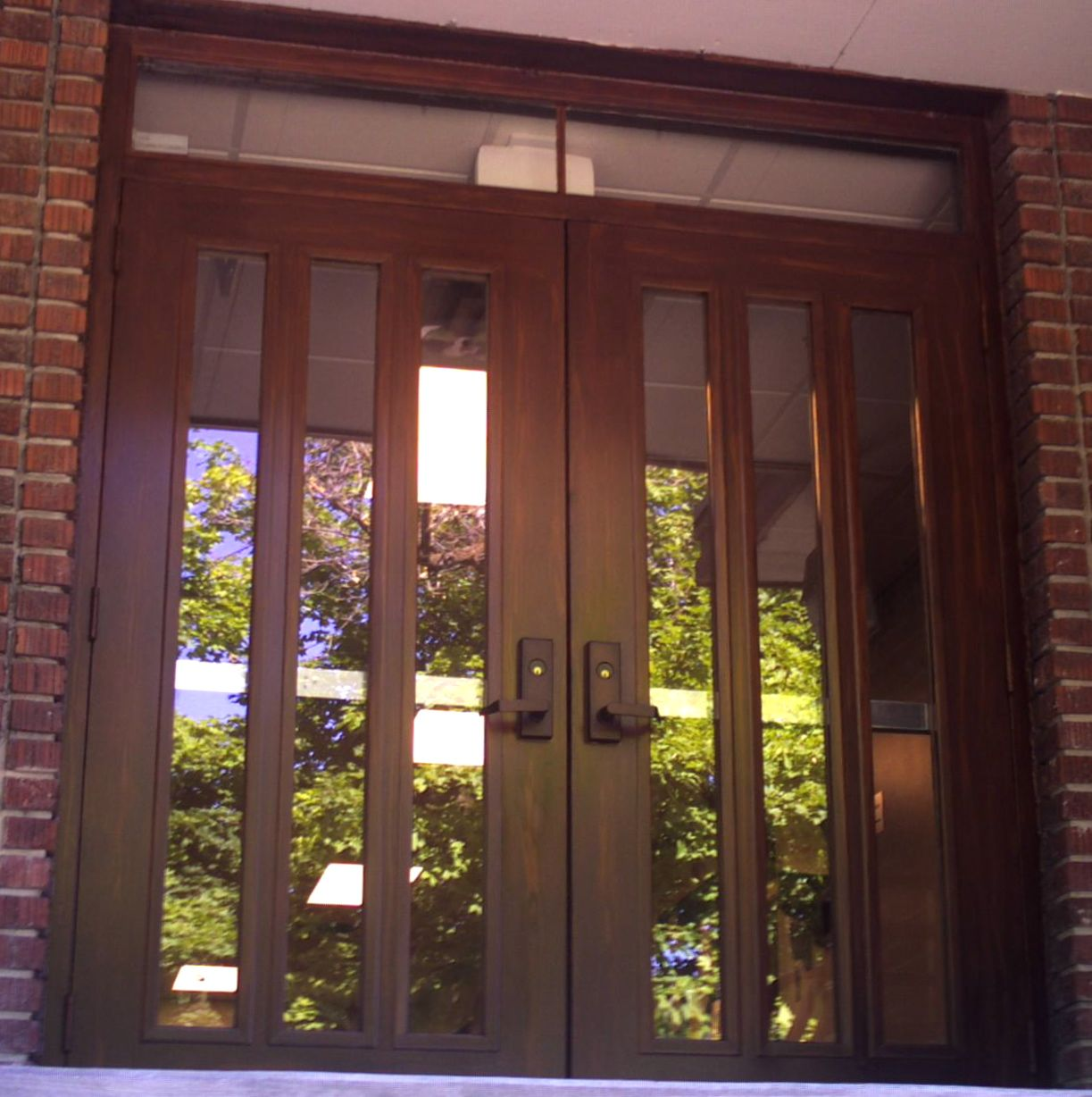 Commercial Exterior Metal Doors