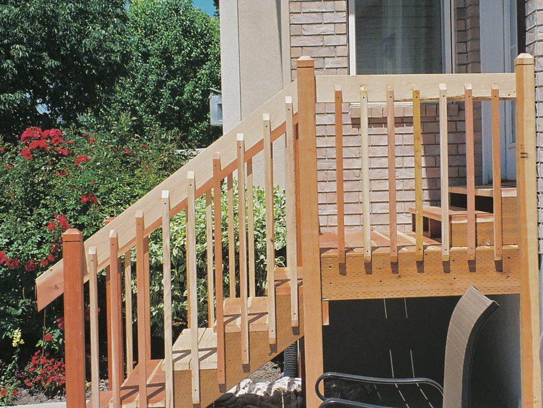 New Natural Redwood Decks