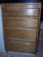 Damaged cabinet drawers