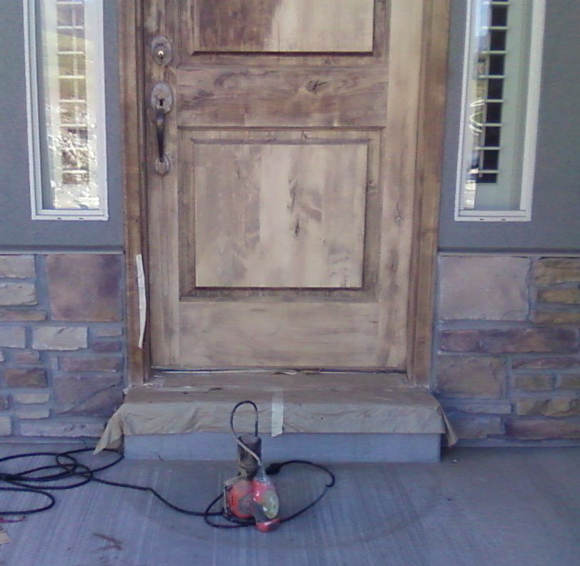 about refinishing doors & wood door refinishing
