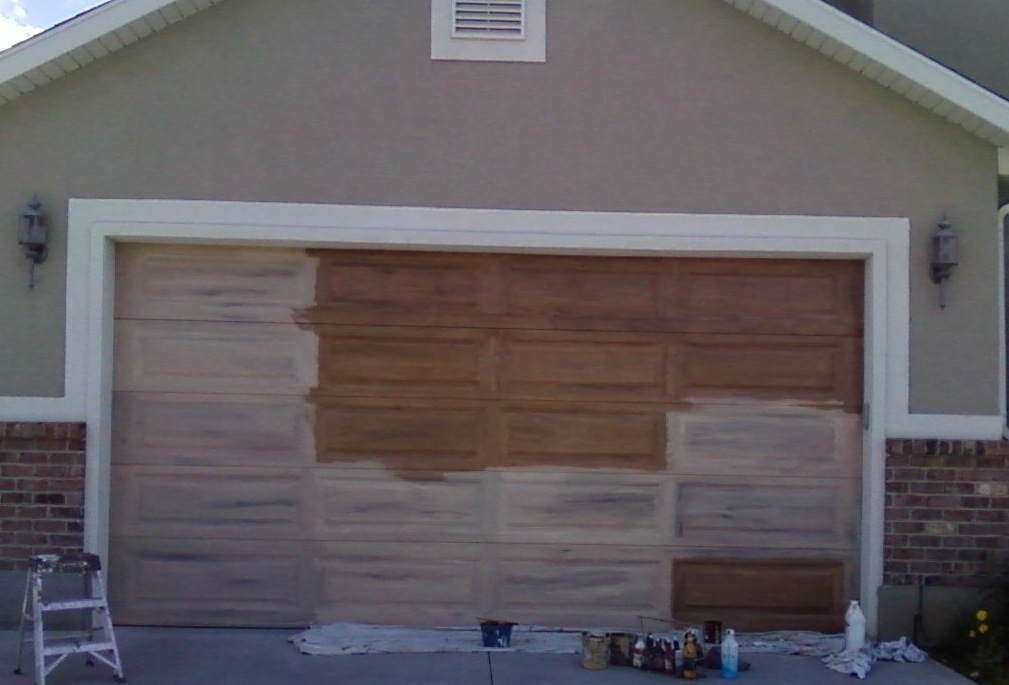 Undercoating Of Garage Door