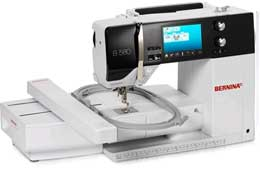 Bernina 580e - Enter the world of sewing and embroidery with the new swiss made Bernina 580e at Studio Bernina in Lafayette Co