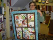 Sleepy Valley Quilt Co. customer Cindy Schlaffman made this adorable Brady's Quilt