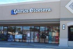 Fabrics Etcetera Exterior, Webster TX