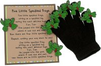 Five Little Speckled Frogs Glove