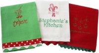 Christmas Dish Towels