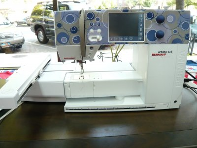 Bernina 635 Machine