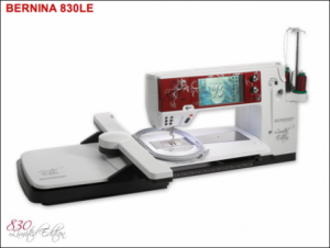 Bernina 830 Machine