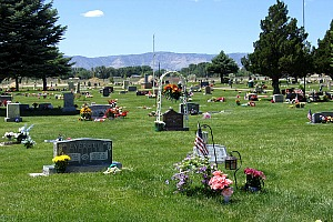 Cleveland Cemetary Plots on Memorial Day
