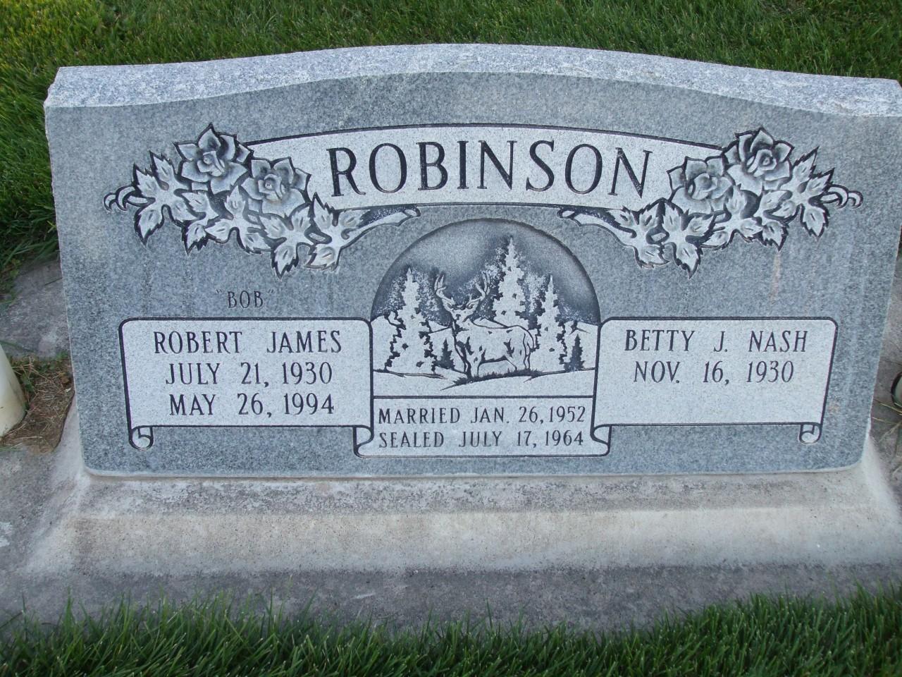 Cemetery Headstone Index R