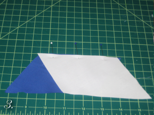 DIY Chevron Clutch Sewing step 3