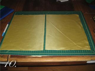 Chevron Clutch Sewing tutorial step 10