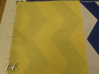 Chevron Clutch Sewing tutorial step 14