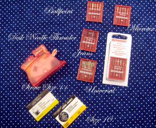 Tools for sewing success - needle guide