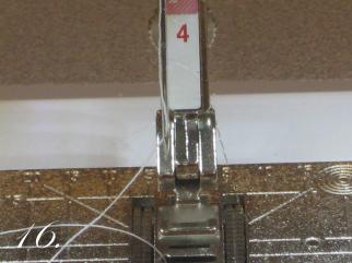 Chevron Clutch Sewing tutorial step 16