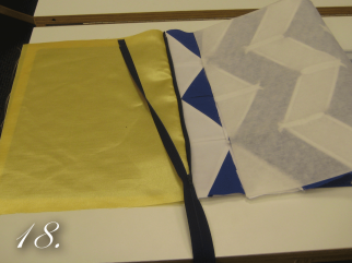 Chevron Clutch Sewing tutorial step 18
