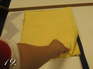 Chevron Clutch Sewing tutorial step 19