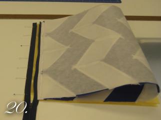 Chevron Clutch Sewing tutorial step 20