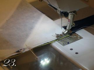 Chevron Clutch Sewing tutorial step 23