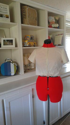 Jackie Dress Design Challenge Muslin