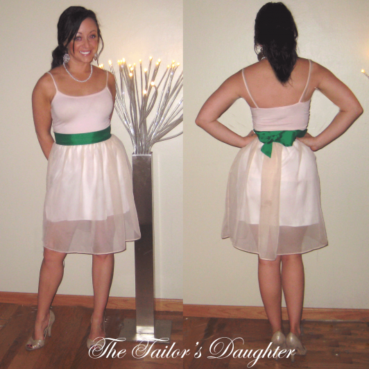 Chiffon and Ribbon Skirt by Vanessa Empire at The Tailor's Daughter