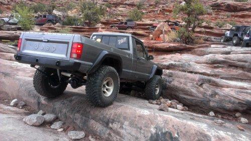 Prime 4x4 1989 Jeep Comanche MJ Z Turn Moab Rim Utah