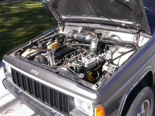 Prime 4x4 1989 Jeep Comanche MJ 1991 XJ Engine Swap