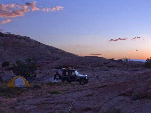 Prime 4x4 off road camping cooking