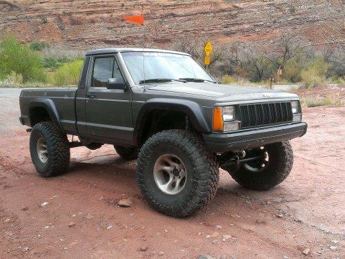 Prime 4x4 1989 Jeep Comanche MJ Moab Rim Trail Utah