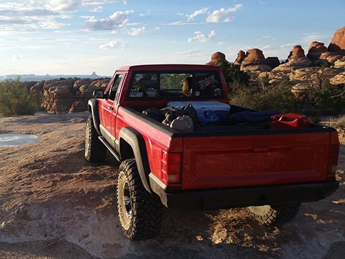 Prime 4x4 1989 Jeep Comanche MJ Canyonlands Utah