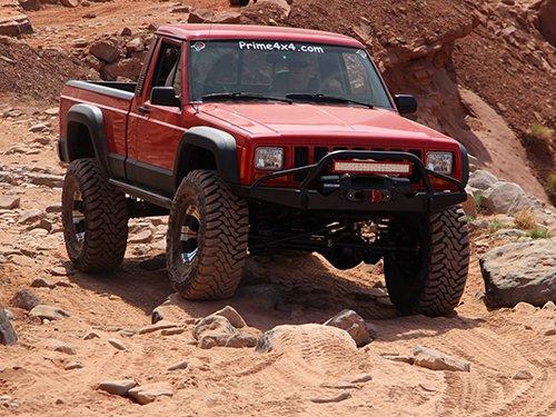 Prime 4x4 1989 Jeep Comanche MJ Moab Utah