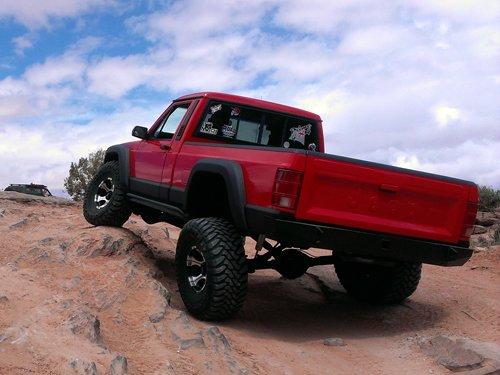 Prime 4x4 1989 Jeep Comanche MJ Hells Revenge Moab Utah