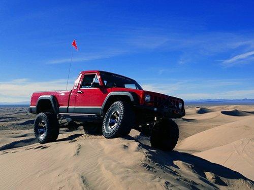 Prime 4x4 1989 Jeep Comanche MJ Little Sahara Sand Dunes Utah