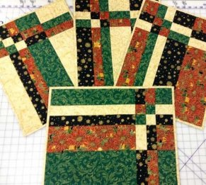 Learn to quilt placemats quilt binding at Studio BERNINA