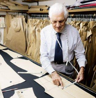 Master Tailor, Giacomo Trabalza Mentor of Susan Igou
