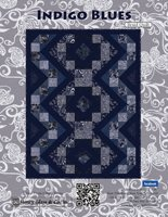 Indigo Blue Braid Quilt