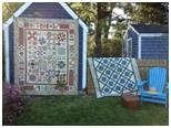 quilts on out house