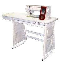 Janome universal table info the universal sewing table has all the conveniences of a custom fit sewing table without the hassle and expense of buying a machine specific table watchthetrailerfo