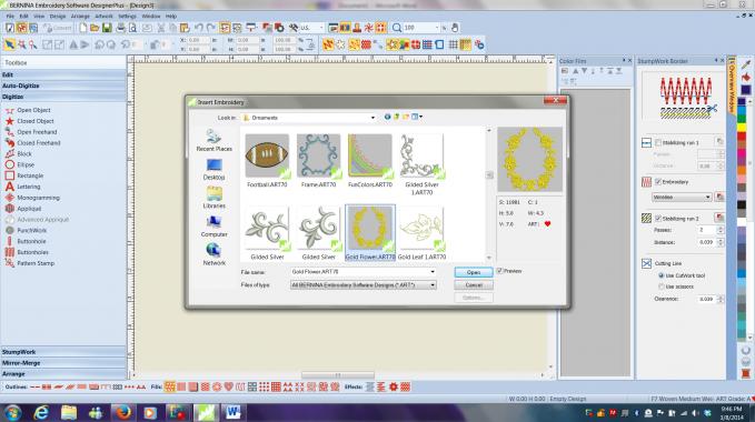 BERNINA v7 Software Educator Vanessa Empire Digitizing