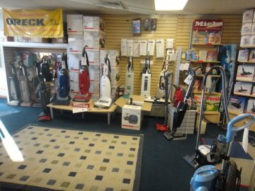 Interior of Sew & Vac Store