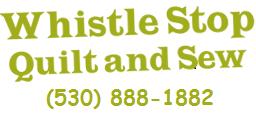 Whistle Stop Quilt and Sew Fabric Shop   Colfax, California : quilt shop auburn ca - Adamdwight.com