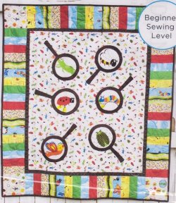 Bugs Magnified Quilt Kit : bug quilt - Adamdwight.com