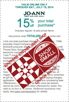 15 percent off entire on-line order
