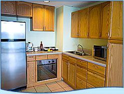 kitchen in suite Breezes resort curacao