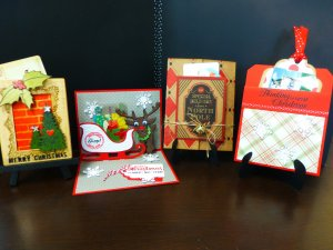 do you need christmas tags for some special gifts in this class we will use bo bunny and simple stories papers to
