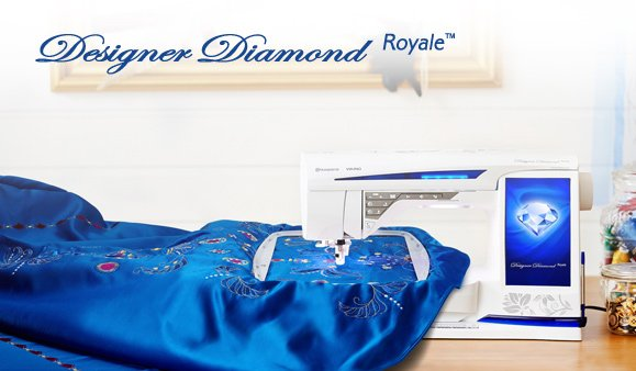 Designer Diamond Sewing Machine For Sale by Sew Delightful