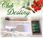 Club Destiny - Baby Lock Destiny Machine Demos