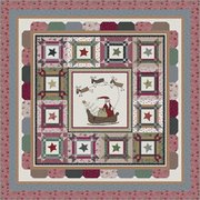 Sant'a's Sleigh - Free Quilt Pattern